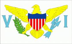 flaga amerykańskich wysp dziewiczych
