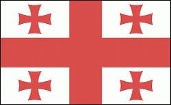 flaga gruzji
