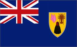 flaga wysp turks i caicos