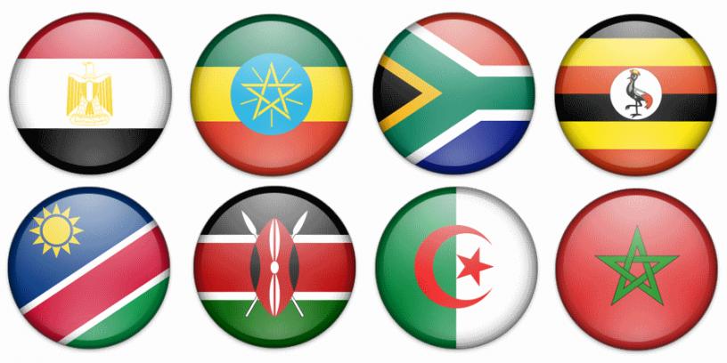 flagi państw afryki