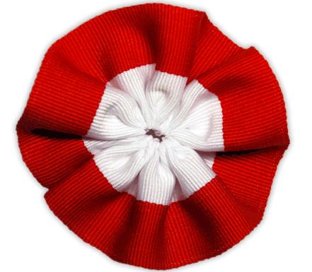 Kotylion na dzień flagi polskiej