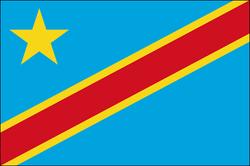 flaga republiki demokratycznej kongo