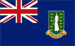 flaga brytyjskich wysp dziewiczych