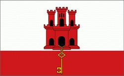 flaga gibraltaru