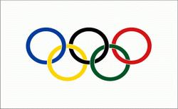 flaga międzynarodowego komitetu olimpijskiego