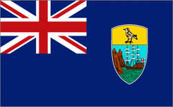 flaga Świętej heleny