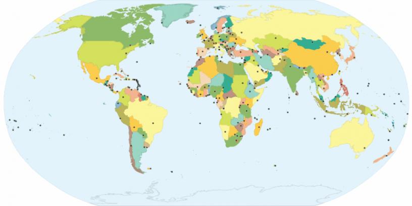 stolice państw